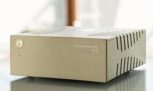 Gold Note giới thiệu bộ cấp nguồn PSU-10 EVO dành cho các thiết bị hi-end dòng 10 Series