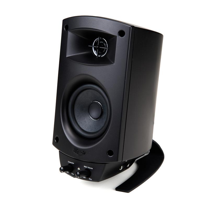 Nâng cấp âm thanh vi tính với bộ loa chất lượng cao Klipsch ProMedia 2.1
