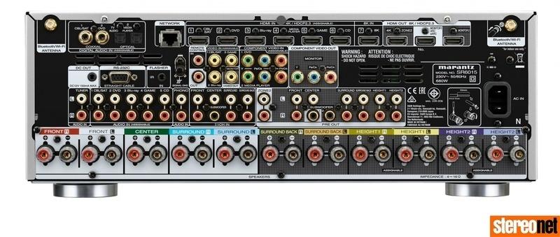 Tiếp bước Denon, Marantz ra mắt loạt AV receiver 8K cho năm 2020