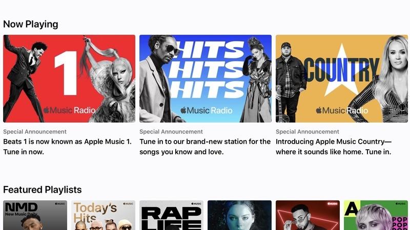 Apple thay thế Beats 1 bằng Music 1 để cạnh tranh cùng Spotify