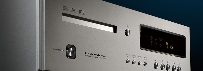 Luxman trình làng đầu phát CD/SACD đỉnh cao D-10X, giá gần 400 triệu đồng
