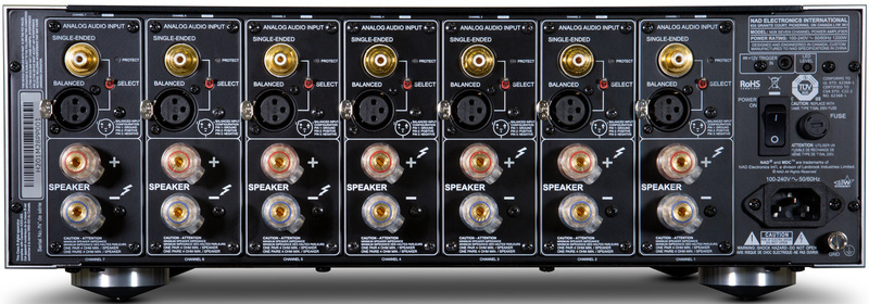 Ampli công suất đa kênh NAD M28: Thành viên mới nhất trong NAD Master Series
