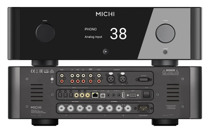 Rotel tiếp tục mở rộng dòng sản phẩm Michi với bộ đôi ampli tích hợp mới