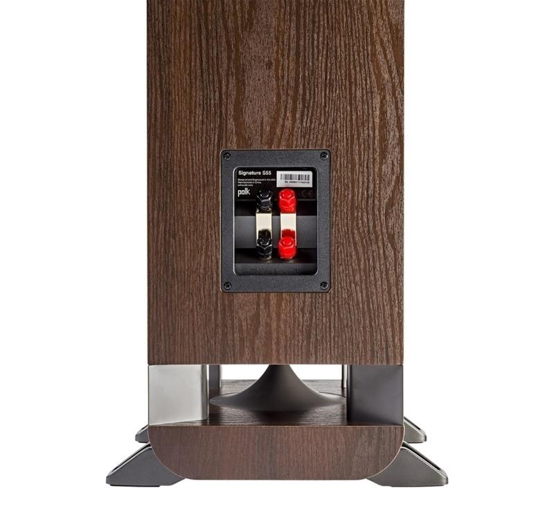 Polk Audio S55: Loa cột chất lượng cao, thương hiệu Mỹ dành cho xem phim và nghe nhạc