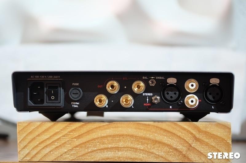 Ampli monoblock AMG STA: Mạnh tựa bán dẫn, ngọt tựa đèn