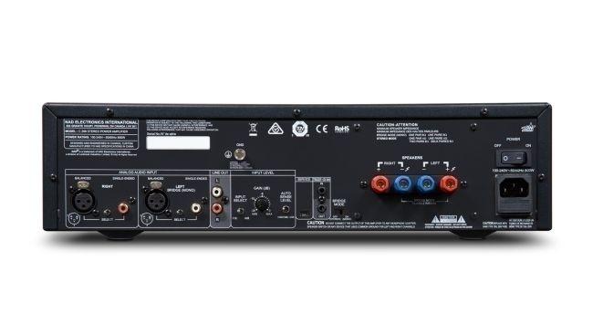 NAD ra mắt ampli công suất C298 cùng công nghệ  Purifi Eigentakt