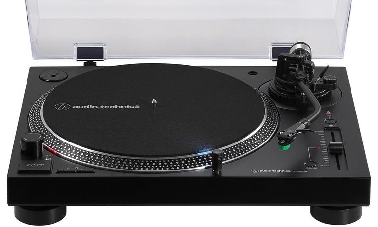 Audio-Technica trình làng mâm đĩa than AT-LP120XBT-USB, tích hợp Bluetooth và cổng USB