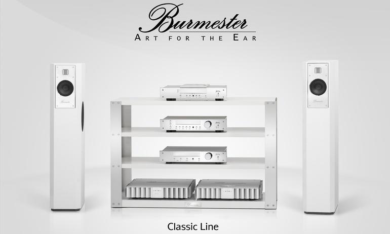 Burmester Classic Line: Dòng thiết bị hi-end