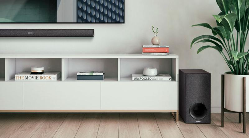Denon giới thiệu loa soundbar DHT-S416, tích hợp Chromecast, hỗ trợ nhạc trực tuyến
