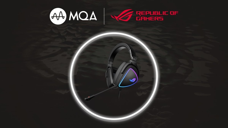 Asus ra mắt ROG Delta S: Tai nghe đầu tiên có khả năng giải mã MQA