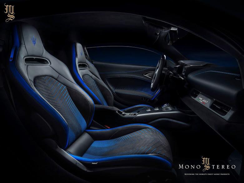 Hệ thống âm thanh cao cấp từ Sonus Faber sẽ có mặt trên siêu xe Maserati MC20