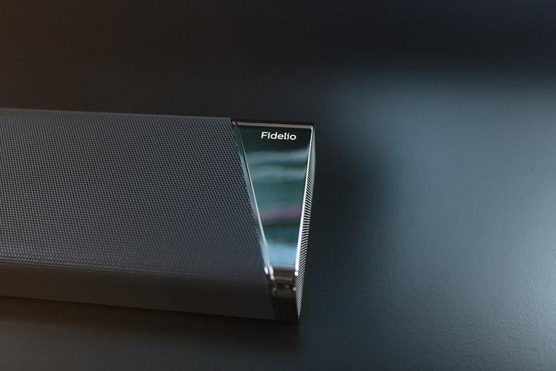 Philips trình làng loa soundbar Dolby Atmos Fidelio B97