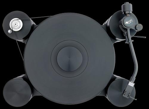 Transrotor Dark Star & Transrotor Dark Star Reference: Bộ mâm đĩa hi-end đen tuyền đặc biệt