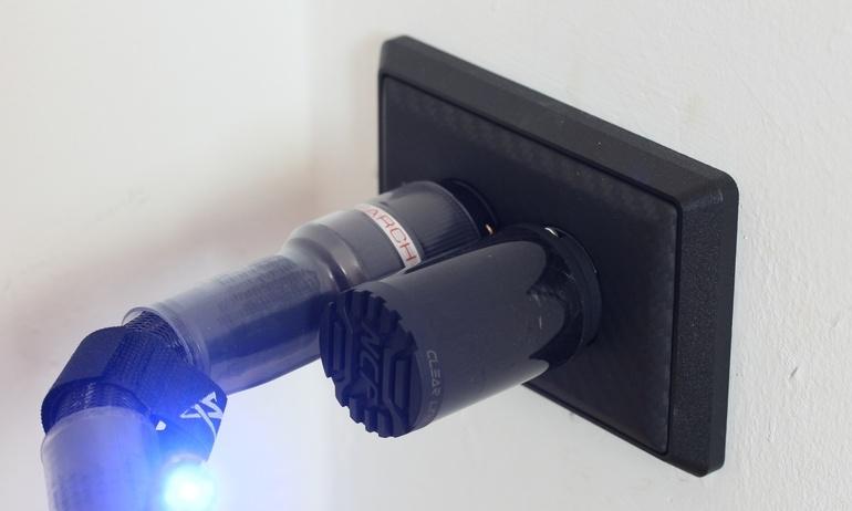 Nâng cấp triệt để ổ cắm cao cấp của Furutech: chấu cắm GTX-D NCF / Khung định vị GTX / Mặt ốp 105-D NCF