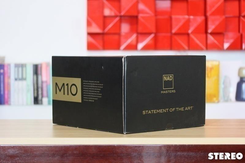 Ampli tích hợp NAD Master M10: Sức mạnh đến từ công nghệ