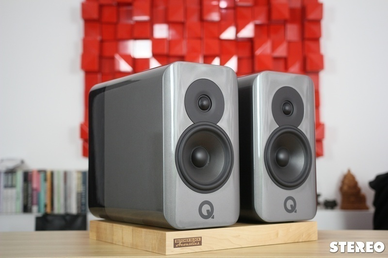 Q Acoustics Concept 300: Loa bookshelf hi-end với thiết kế tuyệt đẹp