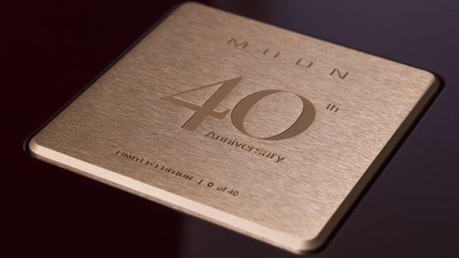 Moon kỉ niệm 40 năm thành lập với bộ sản phẩm Moon Anniversary Edition