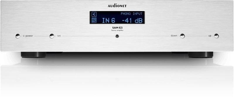 Ampli tích hợp Audionet SAM G2: Bộ khuếch đại hi-end đậm chất Đức