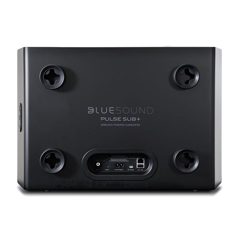 Bluesound tung ra mẫu loa subwoofer siêu mỏng PULSE SUB+