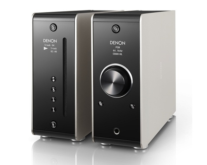 Nghe nhạc CD dễ dàng hơn với đầu phát nhỏ gọn Denon DCD-50