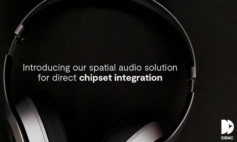 Dirac hé lộ kế hoạch đưa công nghệ âm thanh không gian vào tai nghe không dây