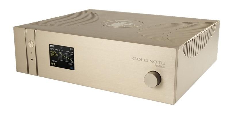 Gold Note trình làng phono pre-amp đầu bảng PH-1000