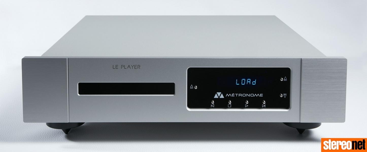 Metronome giới thiệu đầu phát CD cao cấp Le Player 3+, bổ sung DAC hi-end