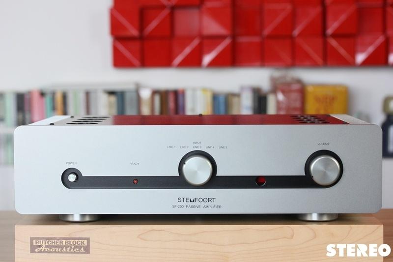 Ampli tích hợp Sugden Audio Stemfoort SF-200: Giải pháp đặc trị những đôi loa khó kéo