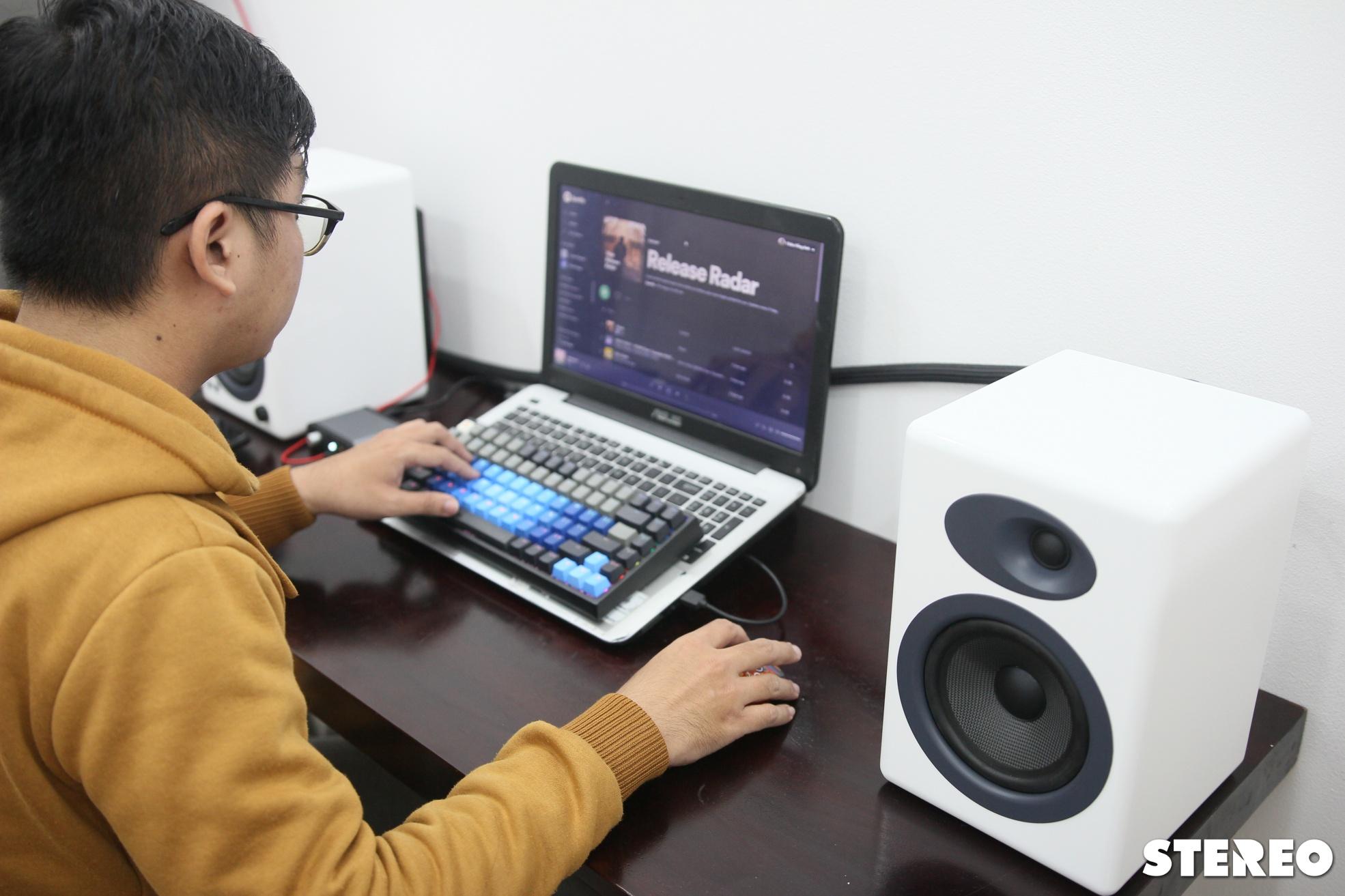 Loa bookshelf chủ động Audioengine A5+:  Chất âm hấp dẫn trong tầm giá 10 triệu
