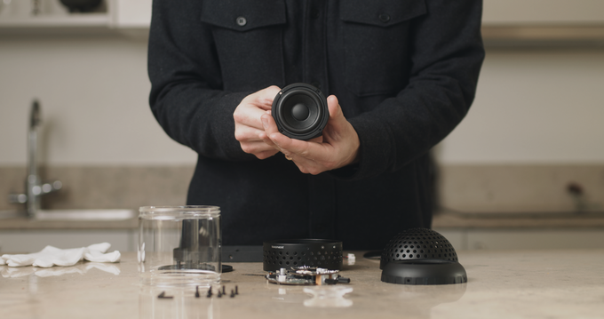 Light Speaker: Chiếc loa độc đáo với thiết kế mô phỏng đèn lồng