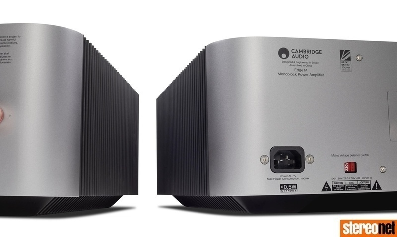 Cambridge Audio trình làng ampli công suất Edge M Monoblock