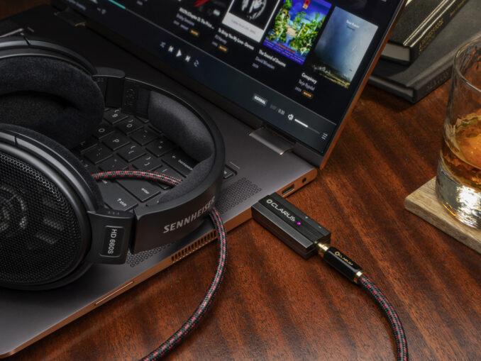 Clarus tung ra bộ giải mã nhỏ gọn CODA, kiêm nhiệm cả USB-DAC và headphone
