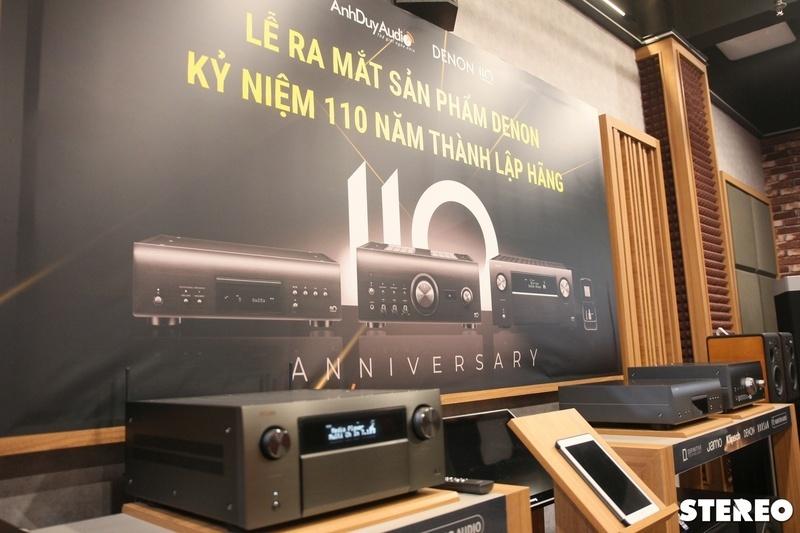 Trình diễn LP Mùa Thu Ru Em trên sản phẩm kỷ niệm 110 năm Denon