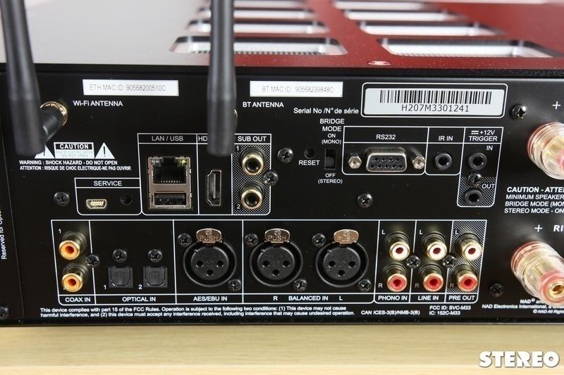 NAD M33: Ampli tích hợp đa năng cho các hệ thống hi-end