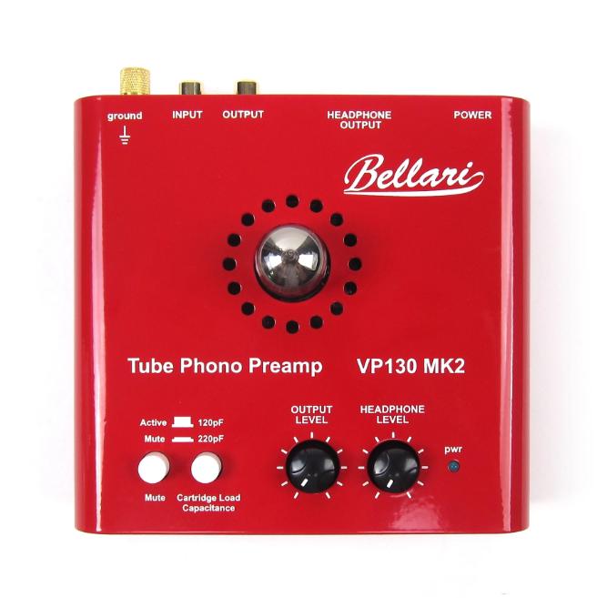 VP130 MK2: Phono preamp đèn kiêm headamp giá rẻ từ Bellari