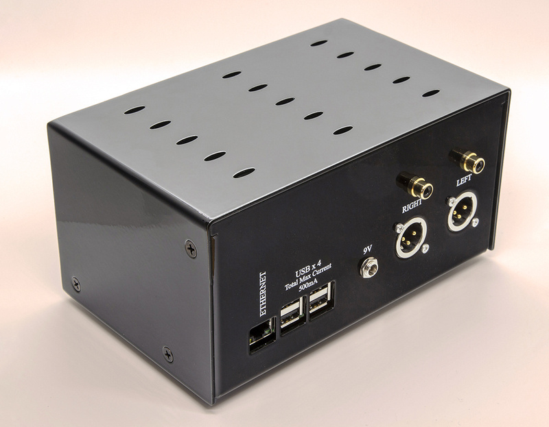 Orchard Audio giới thiệu music streamer tích hợp DAC PecanPi Streamer Ultra