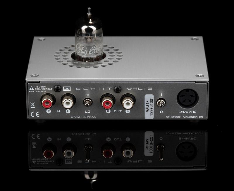 Schiit Audio giới thiệu chiếc headamp đèn Vali 2+, công suất lớn, giá hấp dẫn