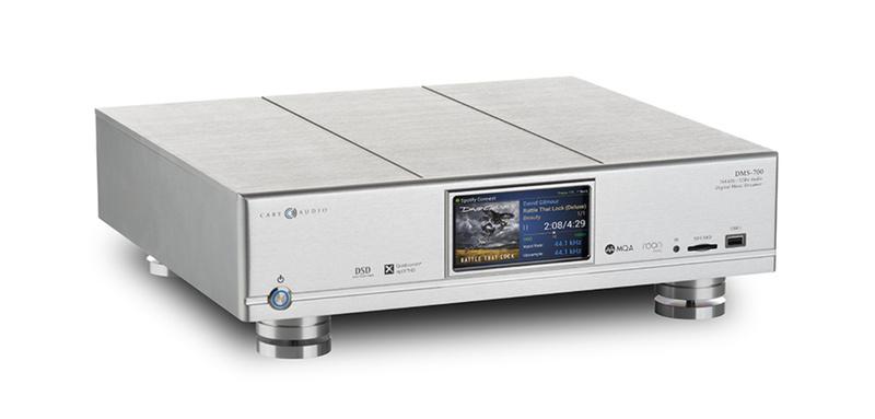 Cary Audio trình làng bộ nguồn phát nhạc số DMS-700 Network Audio Player