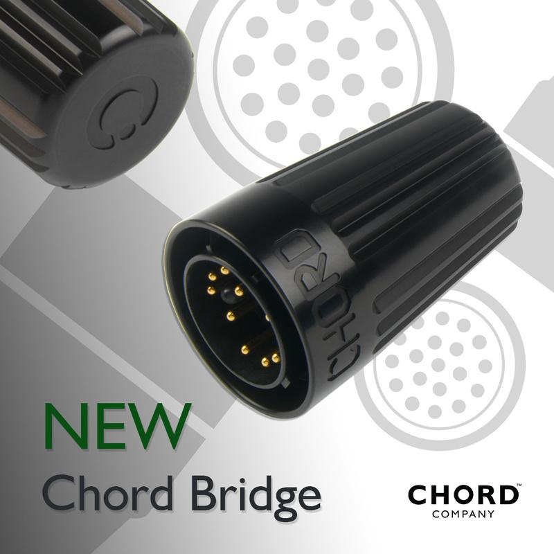 Chord Company ra mắt đầu cắm chống nhiễu cao cấp Bridge