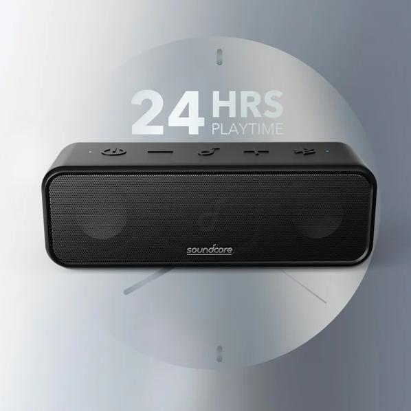 Anker trình làng loa Bluetooth Soundcore 3: Âm thanh hay hơn, chống nước IPX7