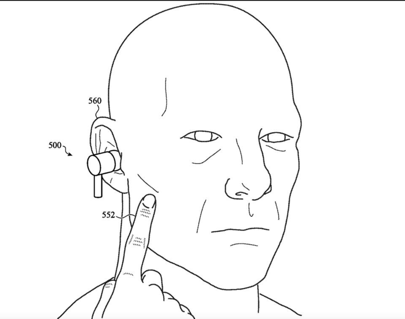 Tai nghe AirPods Pro 2 bị rò rỉ tính năng điều khiển thông qua cơ thể người dùng
