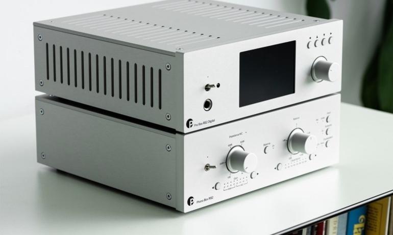 Pro-Ject giới thiệu chiếc Phono Box RS2, hỗ trợ cả MM và MC