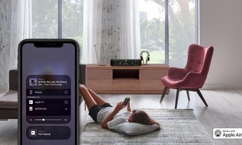 MOON bổ sung AirPlay 2 cho các thiết bị streamer