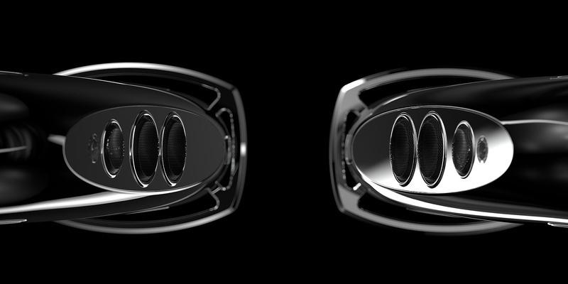 Tidal kết hợp cùng Bugatti ra mắt loa cột hi-end Royale với số lượng giới hạn