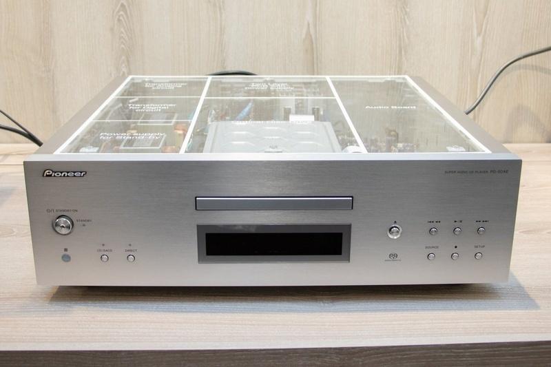Pioneer tái phát hành đầu phát SACD PD-50AE