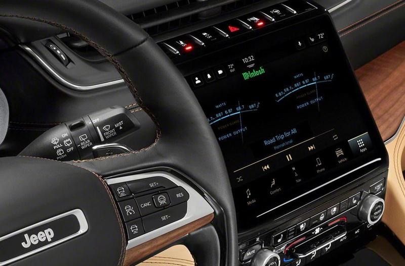 Hệ thống âm thanh 19 loa của McIntosh sẽ có mặt trên Jeep Grand Cherokee L phiên bản 2021