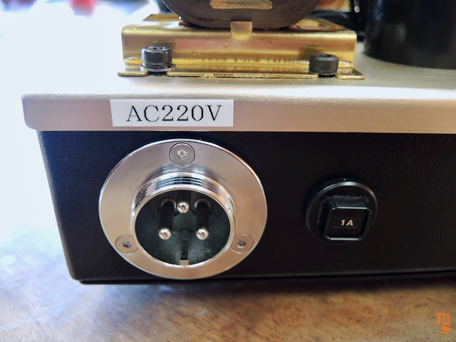 Feastrex hé lộ những hình ảnh đầu tiên về ampli đèn CV4055PP