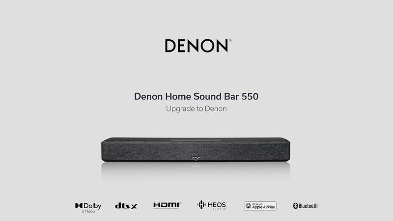Denon ra mắt thành viên mới của dòng loa Home Series