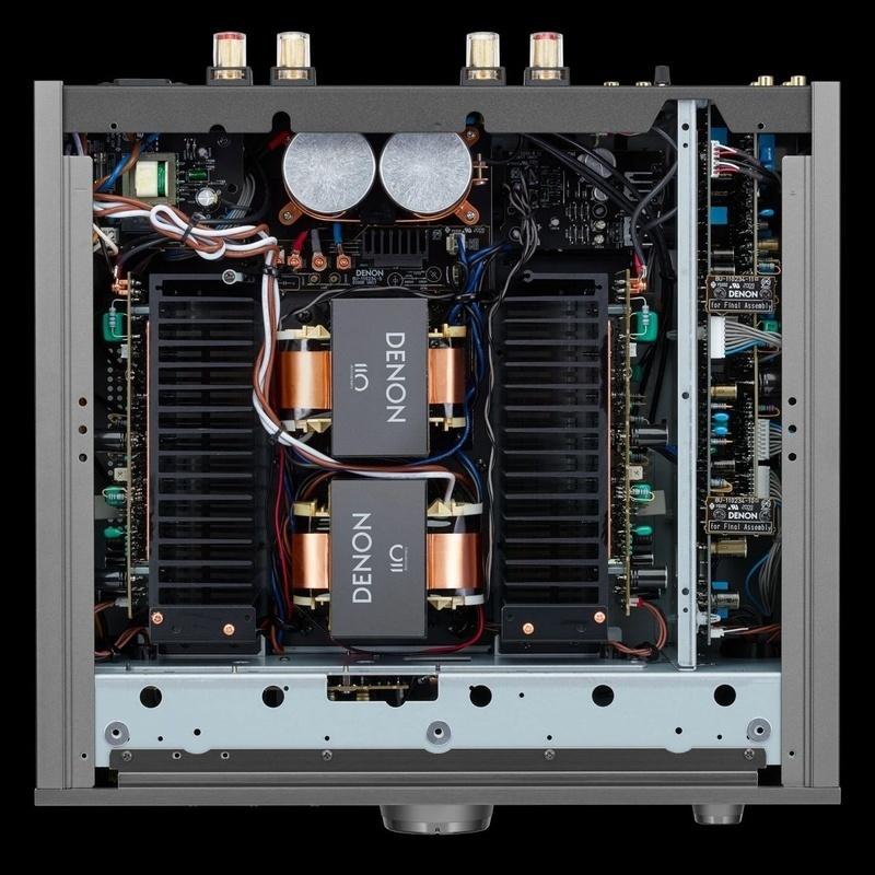 Ampli tích hợp Denon PMA-A110: Tập hợp nhiều công nghệ đặc sắc