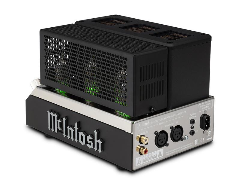 McIntosh trình làng headamp đèn MHA200